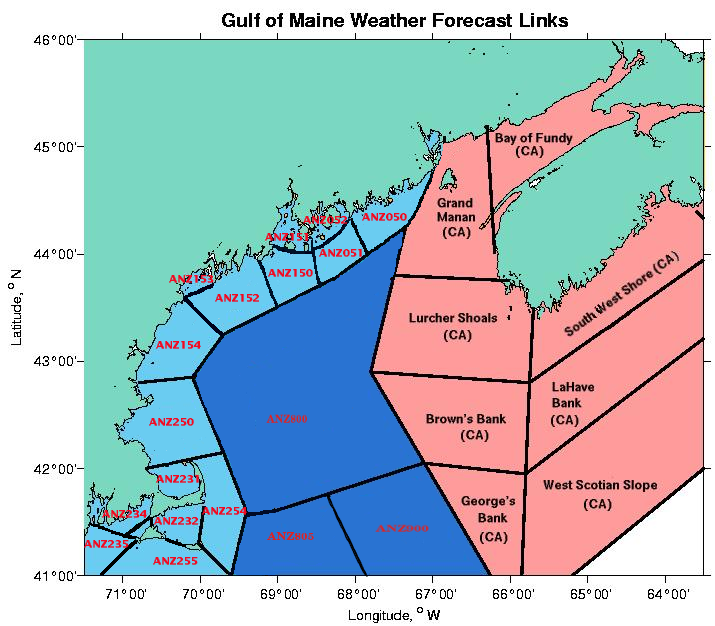 Gulf of Maine Weather Links