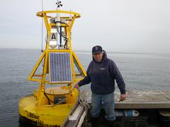 Repair of buoy A on R/V Tully, Feb 06